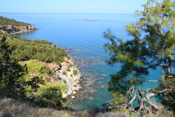 Shoreline of Akamas peninsula