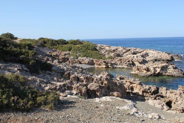 Cove at the Adamas peninsula