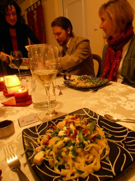 Giovanni's famous pasta