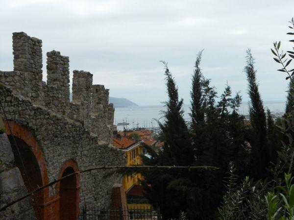 View of La Spezia harbor  from Castle of San Giorgio