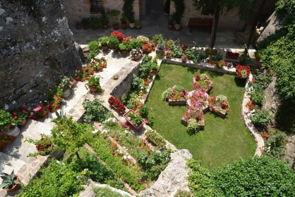 Garden at Roussanou