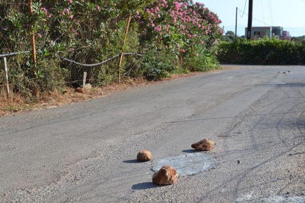 Cretan road repair