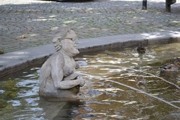 Fountain in Uberlingen