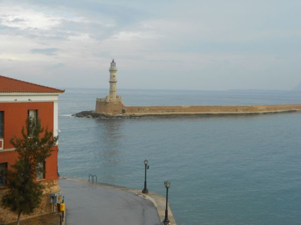 View of lighthouse from Casa Leone