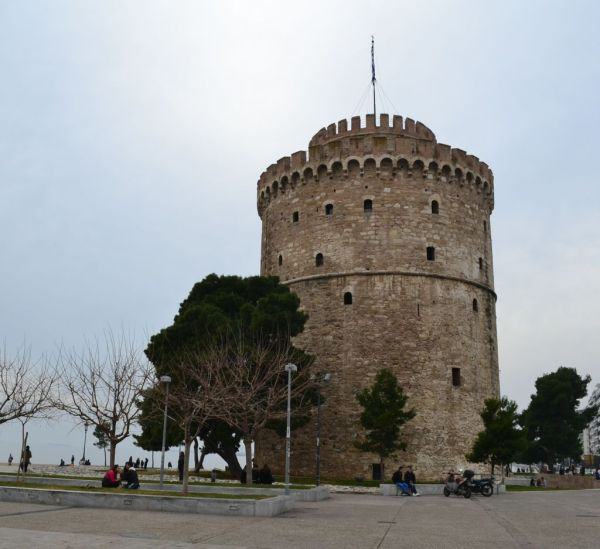Landmark structure of Thessaloniki - The White Tower