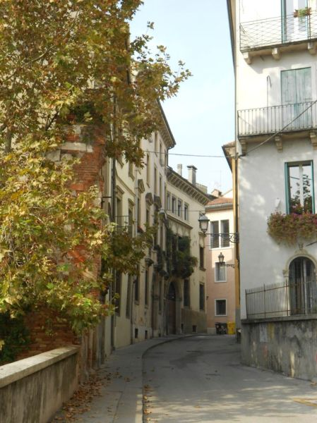 Back street in Vicenza