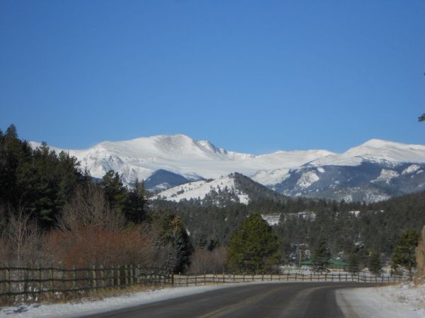 Mt. Evans view from Evergreen, Colorado