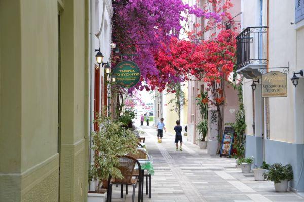 Bouganvilla street - Nafplio