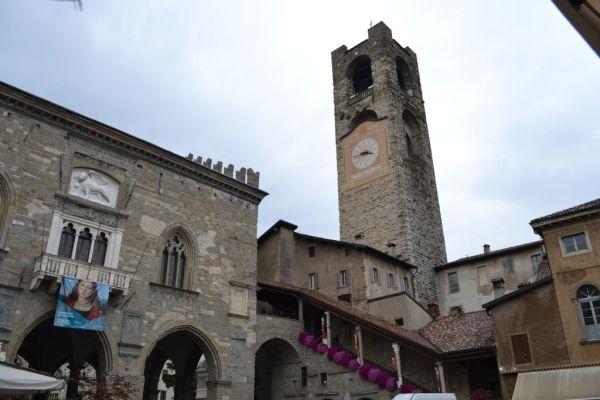 Palazzo del Podesta in Piazza Vecchia