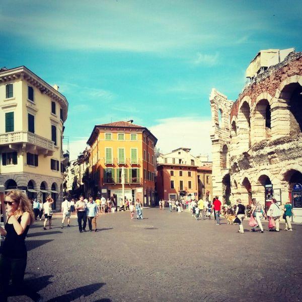 Roman Arena in Piazza Bra, Verona